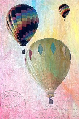 Balloon Flight Poster by James Bethanis