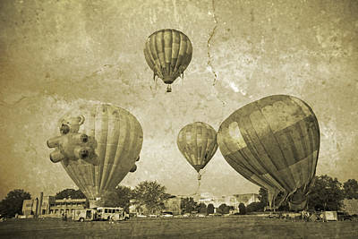 Balloon Rally Poster by Betsy Knapp