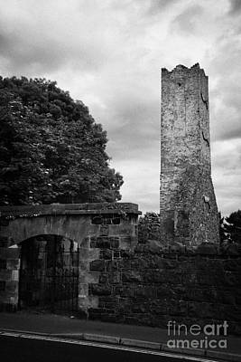 Ballymoney Old Church Tower And Graveyard From The 17th Century County Antrim Northern Ireland Poster