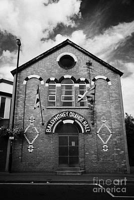 Ballymoney Orange Hall County Antrim Northern Ireland Poster
