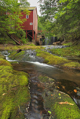 Balmoral Grist Mill In Balmoral Mills Poster by Darwin Wiggett