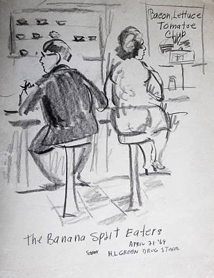 Banana Splits Poster by Bill Joseph  Markowski