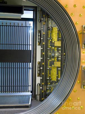 Bank Vault Doors Poster