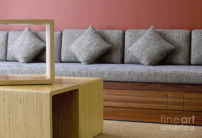 Banquette Seating Poster by Shannon Fagan