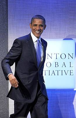 Barack Obama In Attendance For Annual Poster