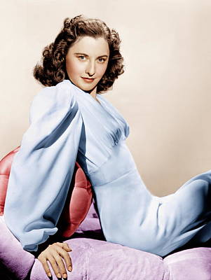 Barbara Stanwyck, Ca. 1946 Poster by Everett