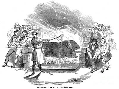 Barbecue, 1844 Poster