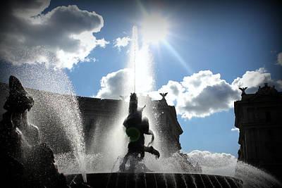 Barberini Fountain Poster