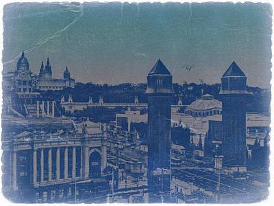 Barcelona Poster by Naxart Studio