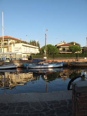Barche Da Pesca Cervia Porto Poster