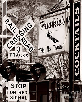 Poster featuring the photograph Barhopping At Frankies 1 by Lee Craig