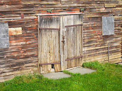 Barn Door Poster by Kathryn Barry