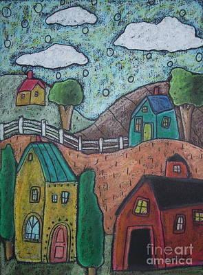 Barn Scene Poster by Karla Gerard