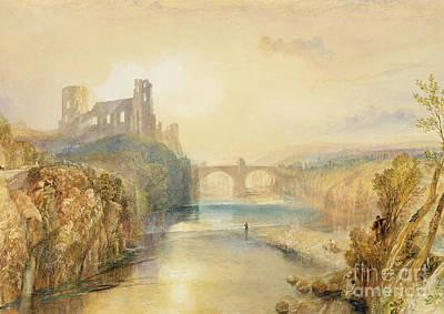 Barnard Castle  Poster by Joseph Mallord William Turner