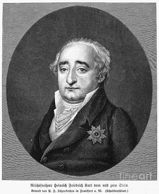 Baron Vom Und Zum Stein Poster