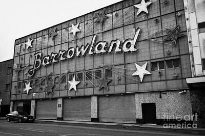 barrowland ballroom in Glasgows east end glasgow Scotland UK Poster by Joe Fox
