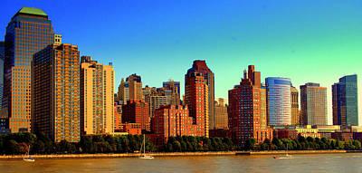 Battery Park City New York Ny Poster