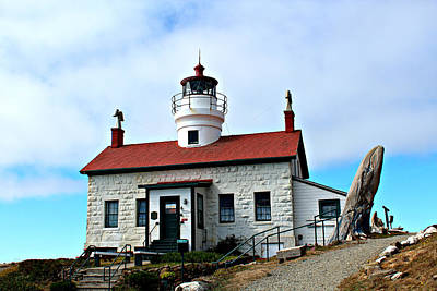 Poster featuring the photograph Battery Point Lighthouse by Jo Sheehan