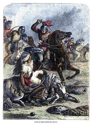 Battle Of Assaye, 1803 Poster by Granger