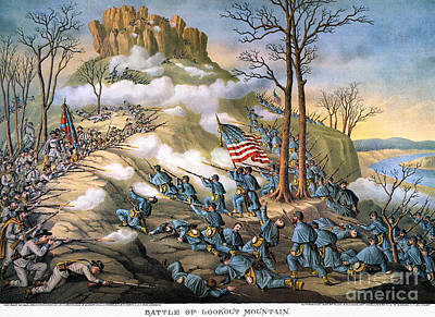 Battle Of Lookout Mount Poster