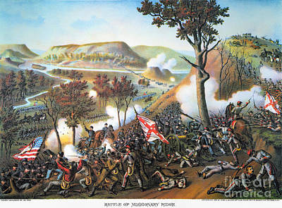 Battle Of Missionary Ridge Poster by Granger