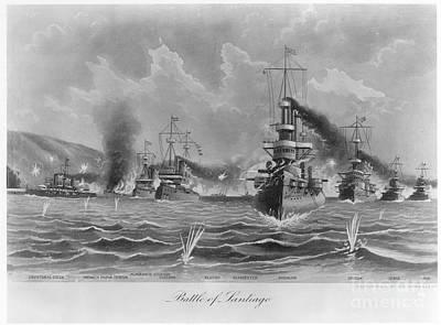 Battle Of Santiago, 1898 Poster by Granger
