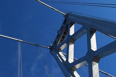 Bay Bridge And Blue Sky, San Francisco Poster