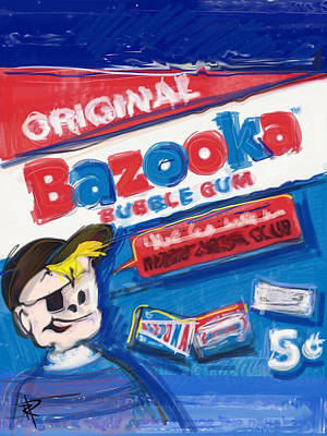 Bazooka Poster by Russell Pierce