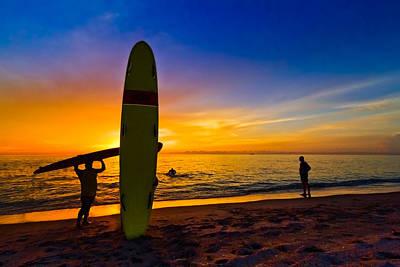 Beach Boys Poster by Debra and Dave Vanderlaan
