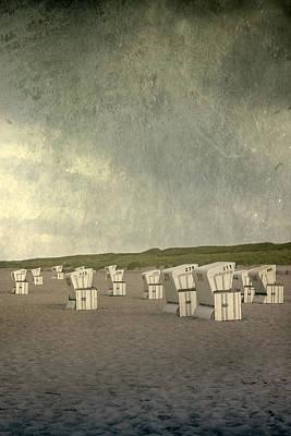 Beach Chairs Poster by Joana Kruse