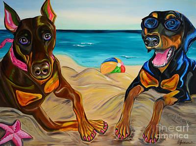Beach Dawgs Poster