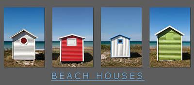 Beach Houses Poster