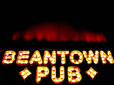 Beantown Pub Poster by Sheryl Burns