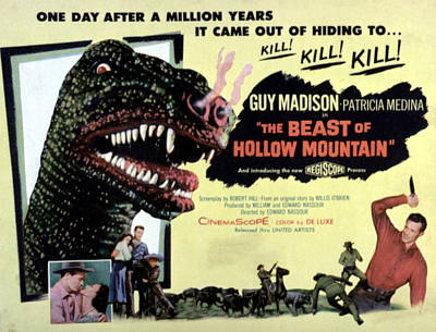 Beast Of Hollow Mountain, 1956 Poster
