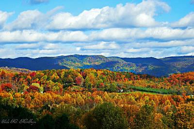 Beautiful Blue Ridge Mountains Poster