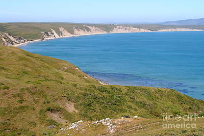 Beautiful Coastline Of Point Reyes California . 7d16050 Poster by Wingsdomain Art and Photography