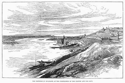 Belgrade: Fortress, 1876 Poster