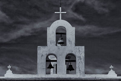 Poster featuring the photograph Bell Tower by Tom Singleton