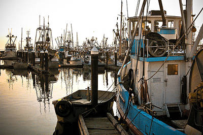 Poster featuring the photograph Bellingham Fishing Boats by Craig Perry-Ollila