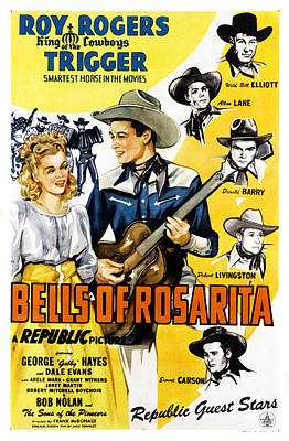 Bells Of Rosarita, First And Second Poster by Everett