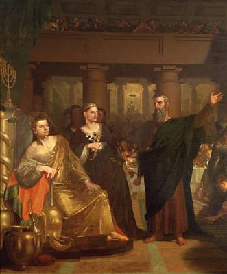 Belshazzar's Feast Poster by Washington Allston