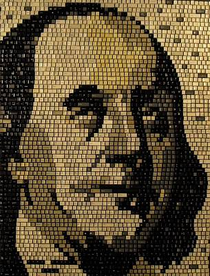 Ben Franklin Poster by Doug Powell