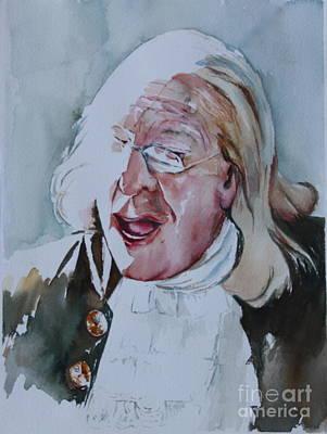 Ben Franklin Of Philadelphia Poster by Peg Ott Mcguckin