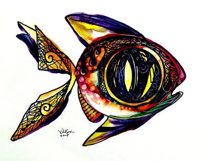 Benedict The Sixteenth Fish Poster by J Vincent Scarpace