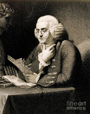 Benjamin Franklin, American Polymath Poster by Science Source