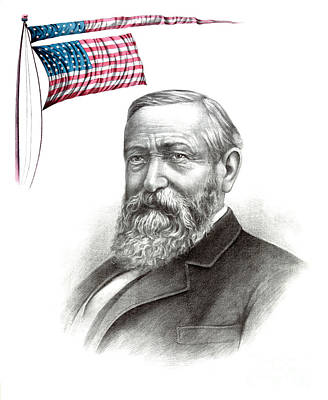Benjamin Harrison, 23rd American Poster by Photo Researchers