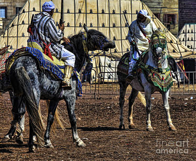 Berbers Morocco Poster by Chuck Kuhn