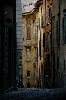 Bergamo Alley Poster by Perry Van Munster