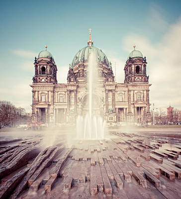 Berlin Cathedral (berliner Dom) In Germany Poster by Matthias Makarinus