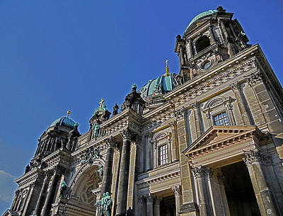 Berlin Cathedral Poster by Juergen Weiss